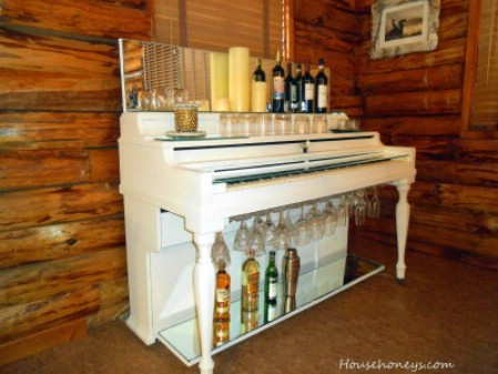 Turn A Broken Upright Into An Elegant Bar