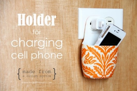 Turn Baby Lotion Bottles Into Cell Phone Charging Stations