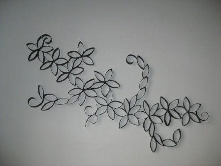 Turn Toilet Paper Rolls Into Art