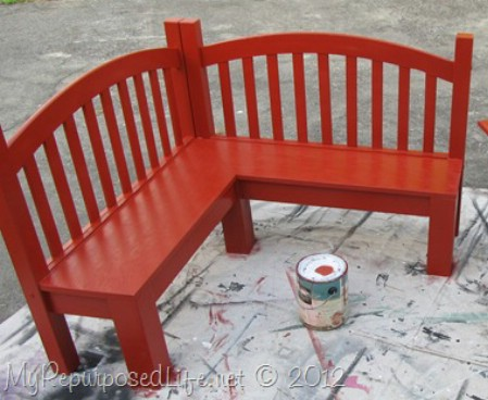 Turn A Broken Bed Into A Bench