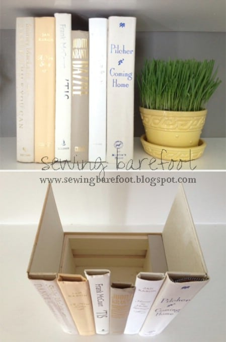 Create Storage From Torn Books