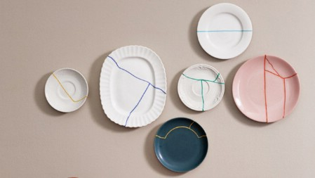 Create Art with Cracked Plates