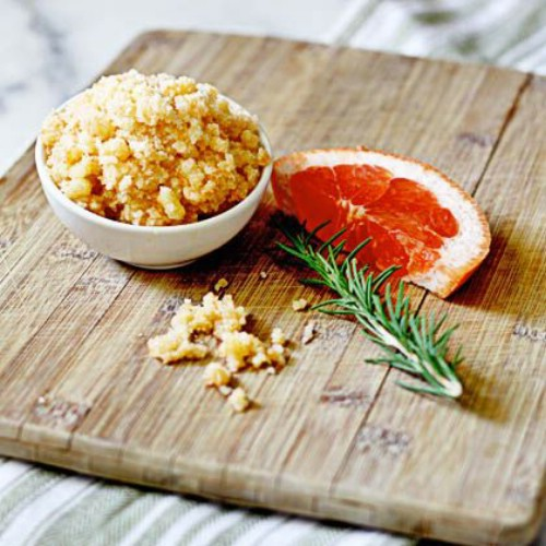 Grapefruit Rosemary Foot Scrub
