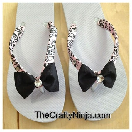 Ribboned Flip-Flops