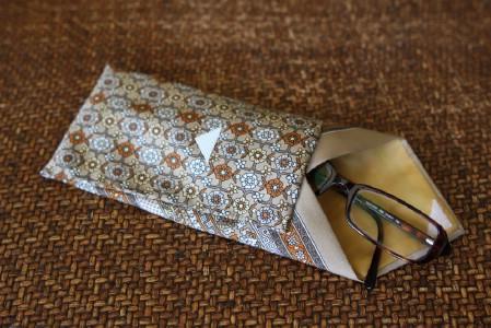 Necktie Eyeglasses Case