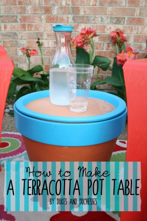 Create a Terra Cotta Pot Table
