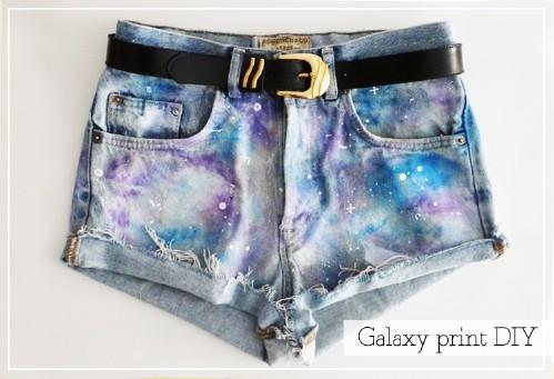 Galaxy Jeans Cut-Offs