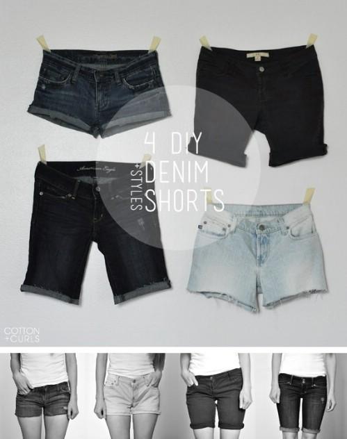 Make Different Lengths of Denim Cut-Offs