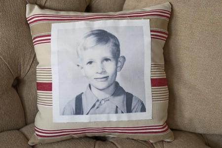 Vintage Photo Pillow