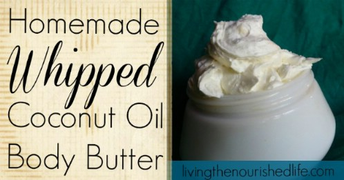 Homemade Whipped Body Butter