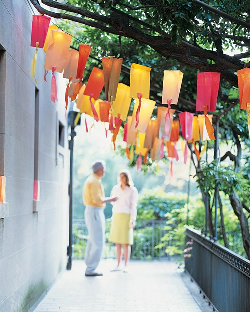 Brighten Up Outdoor Parties