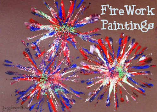 Firework Paintings