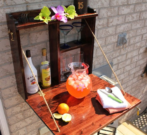 Build a Backyard Bar