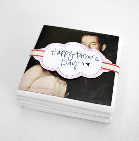 Family Photo Coasters