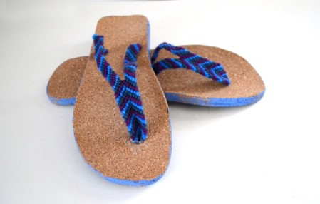Friendship Bracelet Flip-Flops