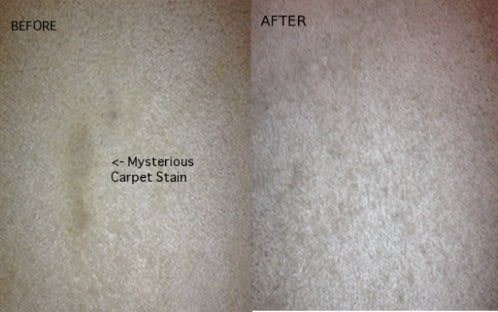 Remove Carpet Stains With An Iron