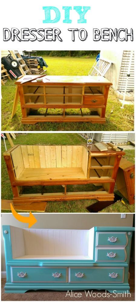 Dresser-to-bench