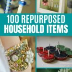 Repurposed Items Collage