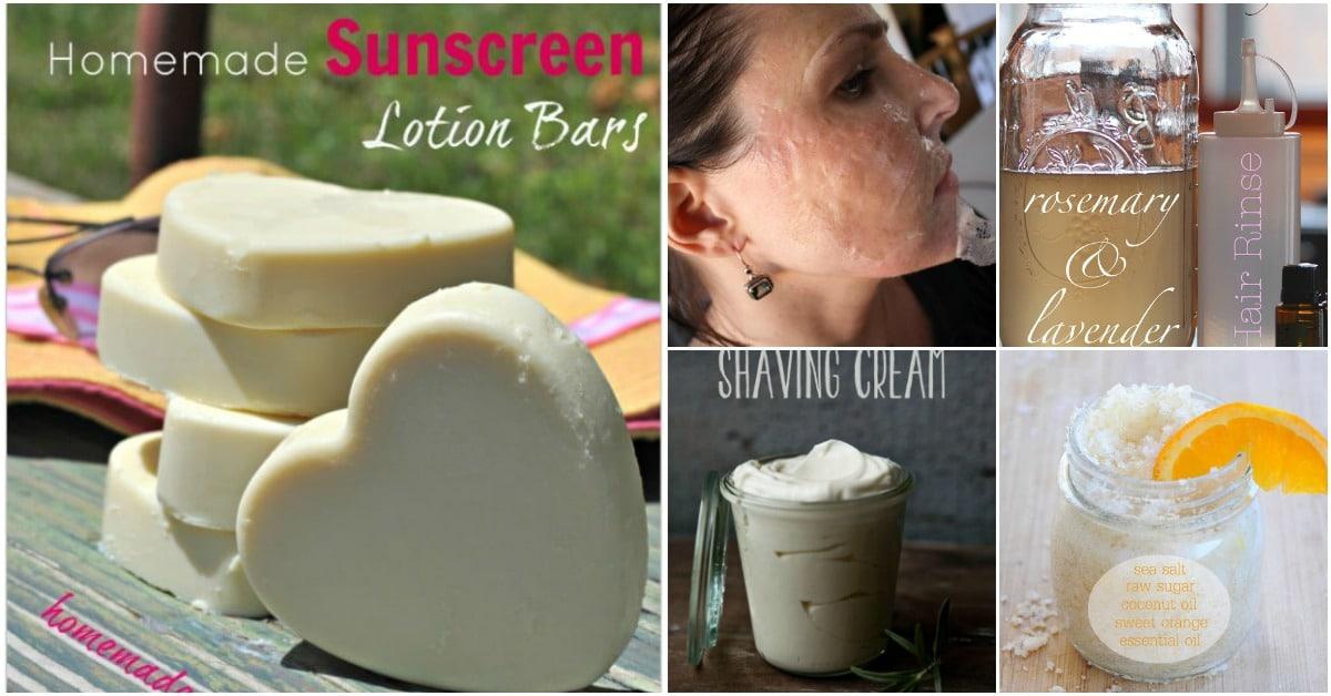 50 All-Natural Summer Beauty Treatment Recipes - DIY & Crafts