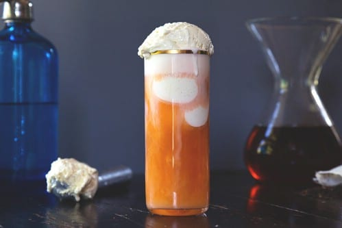 Thai Iced Tea Float