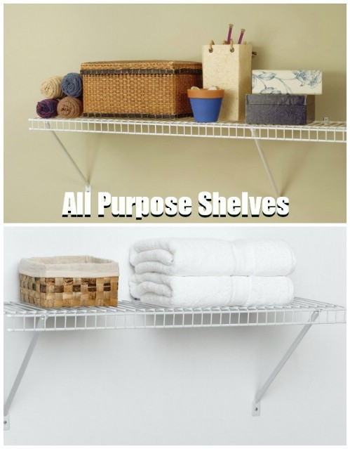 All Purpose Shelves