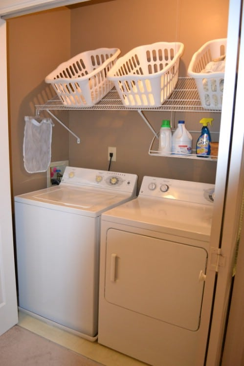 30 Brilliant Ways To Organize And Add Storage To Laundry Rooms Diy Crafts