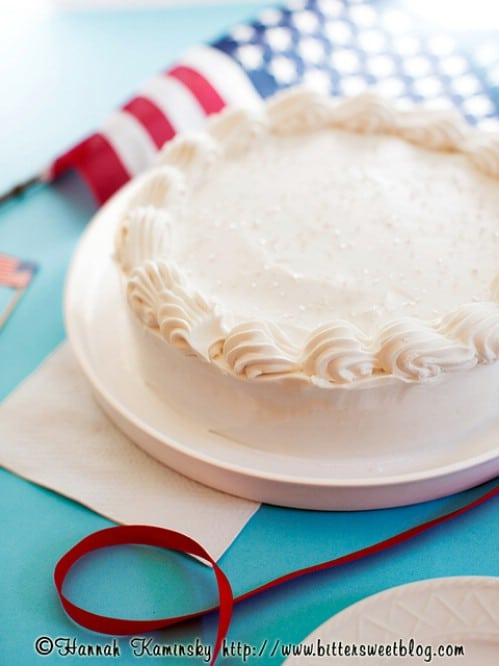Patriotic Ice Cream Cake