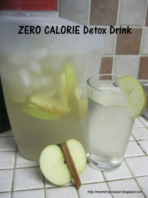 Day Spa Apple Cinnamon Detox Water