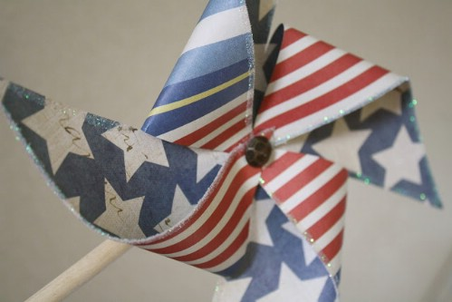 Independence Day Pinwheels
