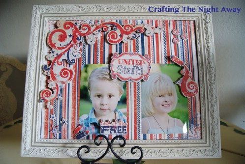 4th of July Magnetic Frame