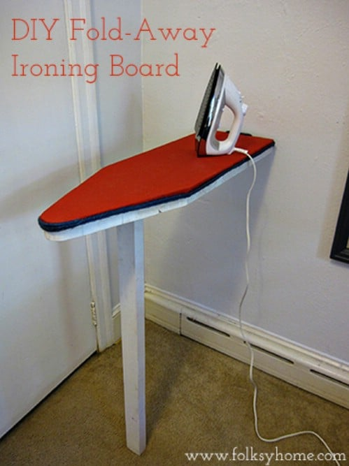 Fold Away Ironing Board