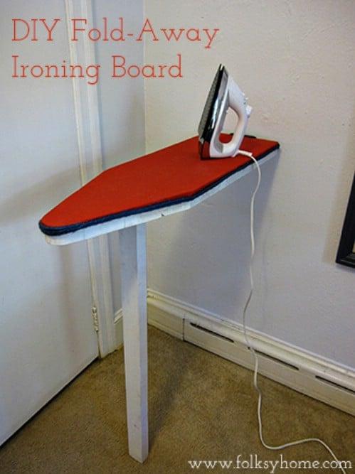 Fold Away Ironing Board