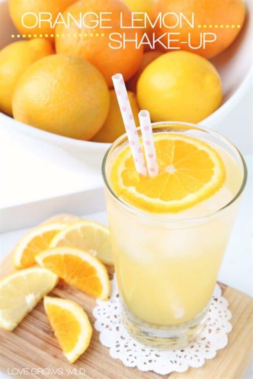 Lemony Orange Shakeup