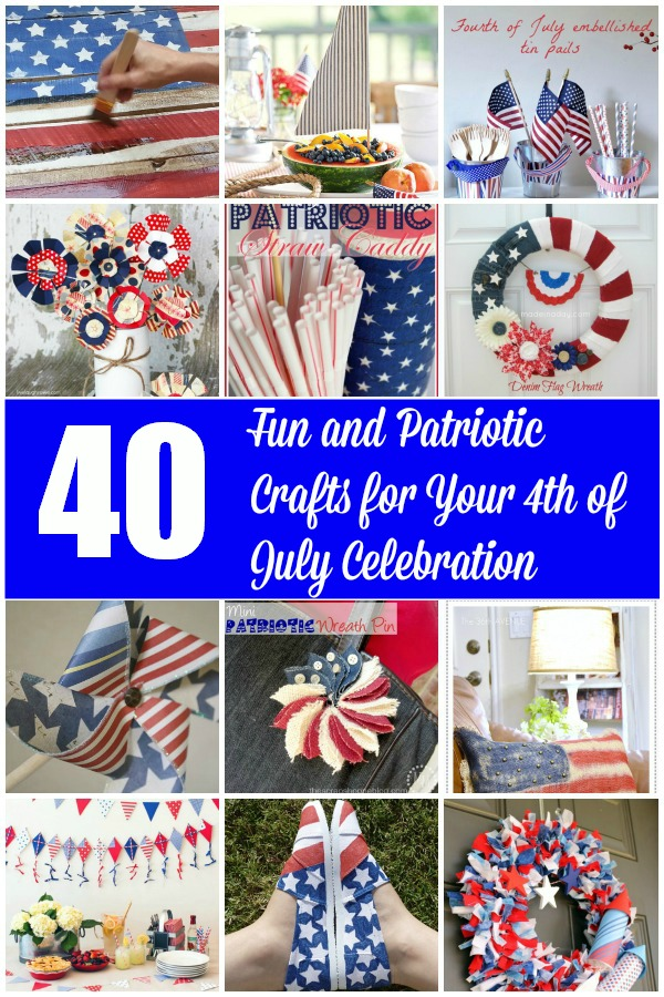 40 Fun and Patriotic Crafts for Your 4th of July Celebration
