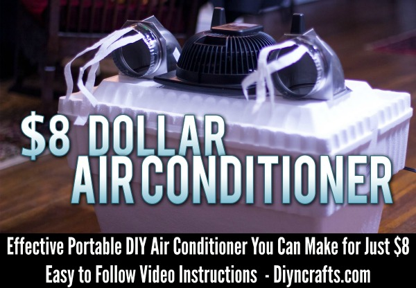 Effective Portable Diy Air Conditioner You Can Make For Just