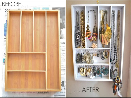 25 Brilliant Diy Jewelry Organizing And Storage Projects Diy Crafts
