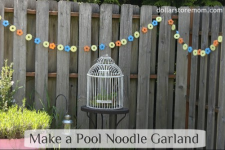 Pool Noodle Garland