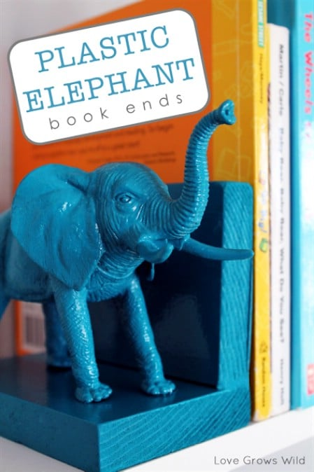Zoo Animal Bookends