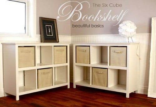 DIY Cube Storage Bookcase