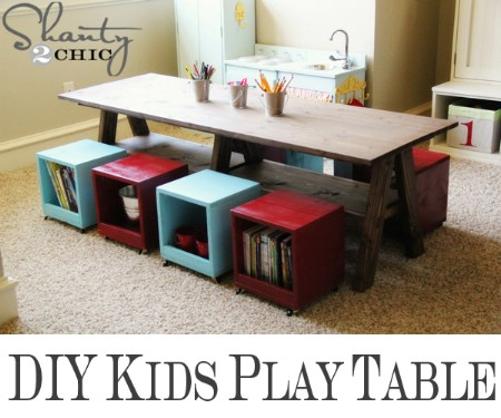 DIY Play Table