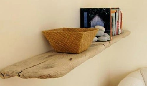 Driftwood Bookshelf