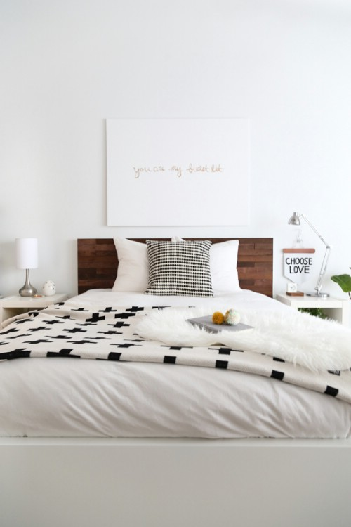 Ikea Hack DIY Stikwood Headboard
