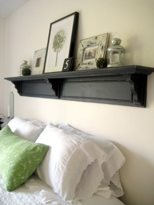 Headboard Shelf