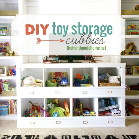 DIY Storage Cubbies