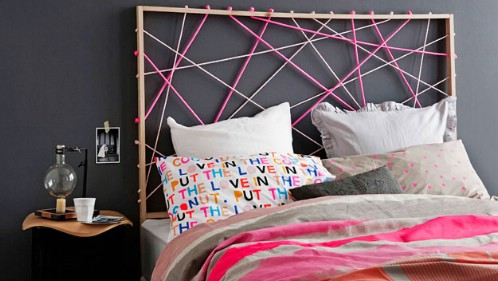 Rope Design Headboard