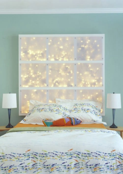 Starry Window Headboard