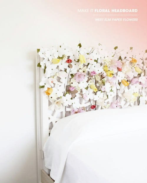 Blooming Headboard