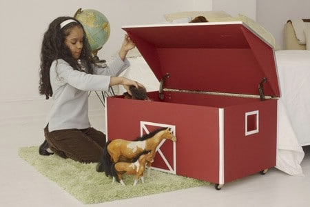 Build a Barn Toy Chest