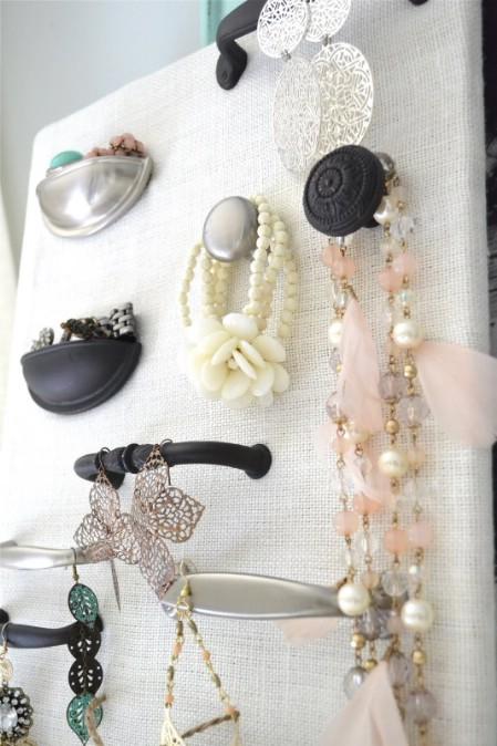 Drawer Pull Jewelry Storage