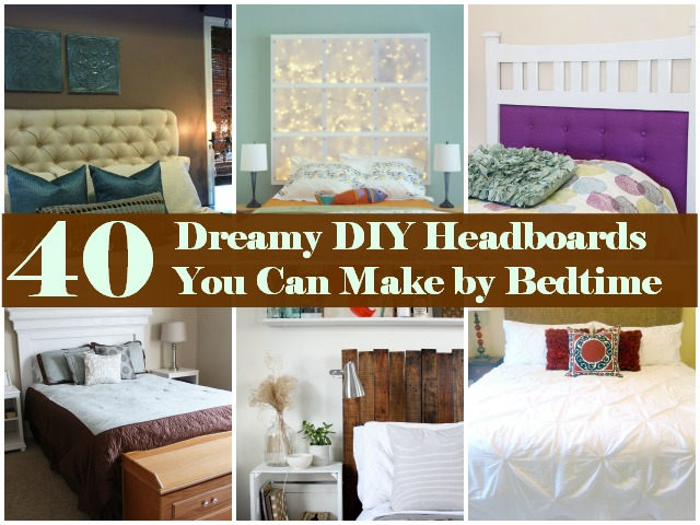 Fabric Headboard Diy King